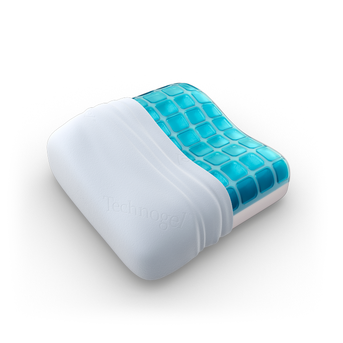 Gel Pillow Compact Size To Sleep Better In Hotels And